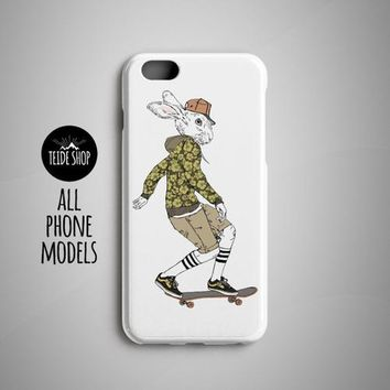 Hare Skater iPhone 8 Case iPhone 8 Plus Case Skate