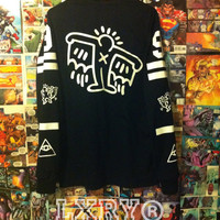 "Keith Haring 'BATMAN"" long sleeve shirt"