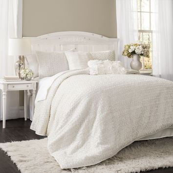 Lush Decor Rosina 3-piece Comforter Set | Overstock.com Shopping - The Best Deals on Comforter Sets