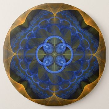 Sacred Geometry Pinback Button