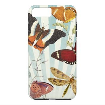 vintage butterfly collage iPhone 7 plus case