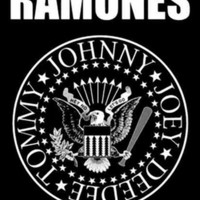 The Ramones Poster Flag Eagle Seal Logo Tapestry