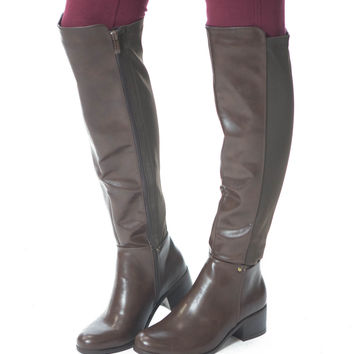 Stroll Through the Park- Cognac Boot