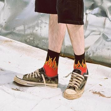Flames Socks