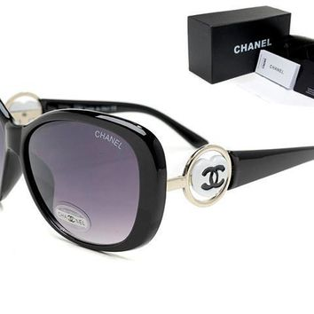 Chanel summer new men and women models sun-visor polarized sunglasses F-WMYJ-Y #3