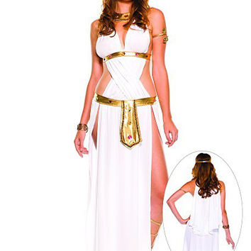 Games Indian Halloween White Sexy Uniform [9211522884]