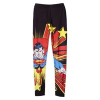 Junior's Superman Graphic Legging