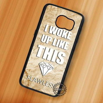 Quotes Vintage Beyonce - Samsung Galaxy S7 S6 S5 Note 7 Cases & Covers