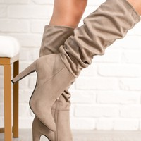 Naturally Beautiful Boots (Taupe)