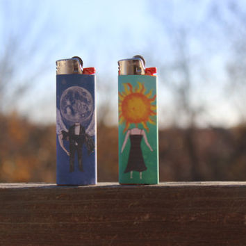 Balance and Composure Full Size Lighters