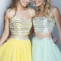 Short Two Piece Dress by Sherri Hill