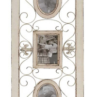Country Style Wood Wall Photo Frame 13 x 36