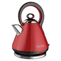BLACK + DECKER Electric Kettle - Red