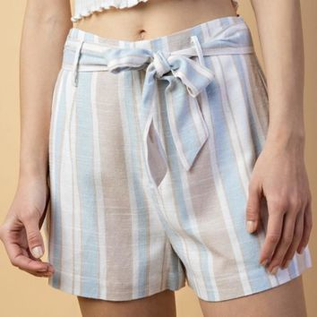 Cotton Candy Stripe Short