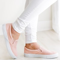 Kalie Blush Slip On Shoe