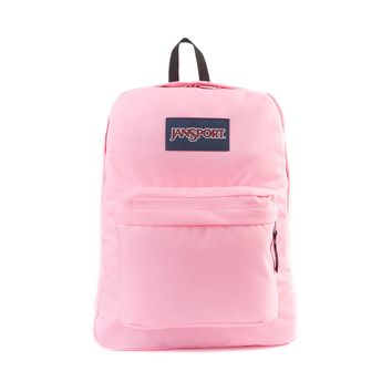 JanSport Superbreak Backpack, Neon Pink | Journeys Shoes