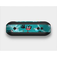 The Blue with Flying Tweety Birds Skin Set for the Beats Pill Plus