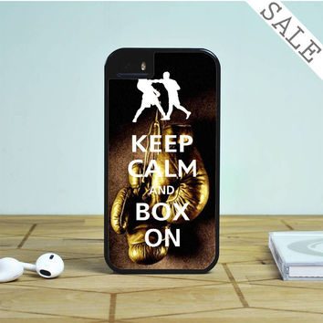 Keep Calm WWE Boxing Gloves For iPhone | Samsung Galaxy | HTC Case