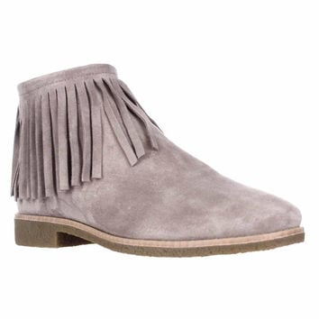 kate spade new york Betsie Fringe Ankle Boots - Truffle