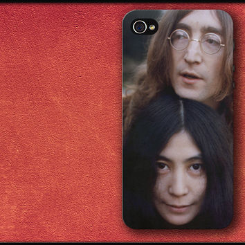 John Lennon Phone Case Yoko Ono iPhone Cover