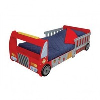 Just Kids Stuff Fire Truck Toddler Bed - JKS003-1 - Baby & Kids' Furniture - Furniture