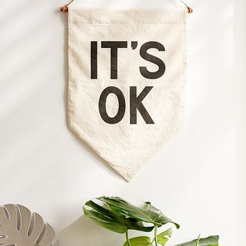 Secret Holiday & Co. It's OK Banner | Urban Outfitters