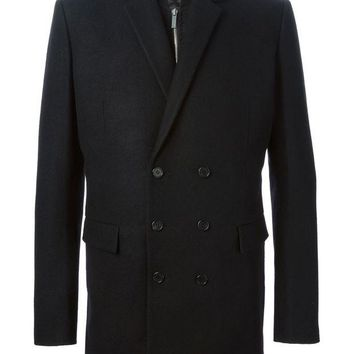 DCCKIN3 Juun.J layered double-breasted coat