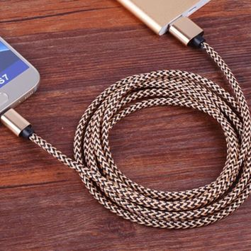 lightning cable nylon braided extra long 4 7 10ft usb syncing and charging cable cord charger for apple iphone se 7 7 plus 6 plus 6s plus 6 6s 5 5s 5c ipad 4 ipad air 1 2 ipad mini ipod  number 1
