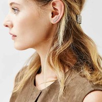 Tiny Triangle Ear Climber Earring