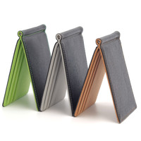 New South Korea Multifunctional Magic Money Clips 3 Colors Ultra-thin Men Wallet