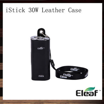 Eleaf iStick 30W Leather Case iStick eCig Carry Case Necklace Pouch eGo Lanyard For iStick 30W Mod Battery 100% Original