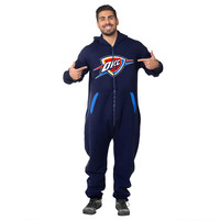 Oklahoma City Thunder Adult One Piece KLEW Sport Suit Sizes XS-XL w/ Priority Shipping