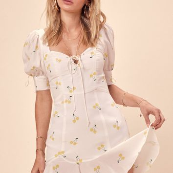 Ashland Lace Up Dress – For Love & Lemons