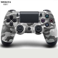 For PS4 Camouflage Shell Skin Replacement Case PS4 Camouflage For PlayStation 4 PS4 Controller Urban Camo Upper And Down Shell
