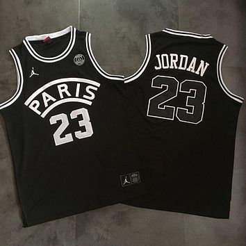 Paris Saint-germain 23 Jordan Basketball Jersey | Best Online Sale