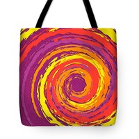 "Hurricane Sunset Tote Bag for Sale by Shawna Rowe - 18"" x 18"""