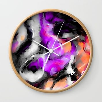 Purposed Wall Clock by violajohnsonriley