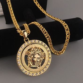 Gift Jewelry Stylish Shiny New Arrival Hot Sale Fashion Hip-hop Accessory Club Necklace [6542719491]