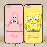 Best Friends Spongebob Squarepants Patrick Star,iPhone 6+/6/5/5S/5C/4S/4