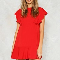 Wow Ruffle Dress