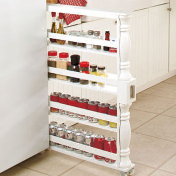 Large Slim Rolling Soda Cans Vegetable or Soup Can or Canned Goods Organizer