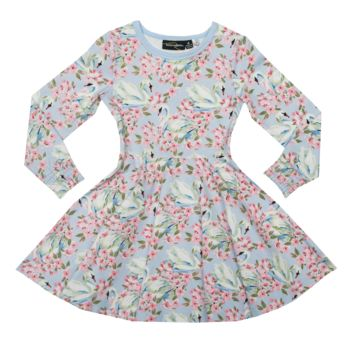 RYB Fairytale Swans Waisted Dress