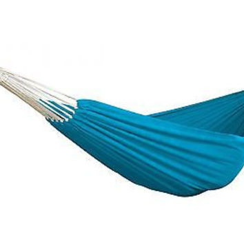 Patio Bliss Hammock in a Bag, Oversized - Light Blue