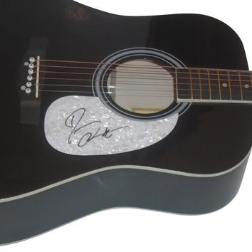 Darius Rucker Autographed Full Size 41 Inch Country Music Acoustic Guitar, Proof Photo