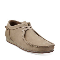 Wallabee Run in Taupe Nubuck - Mens Shoes from Clarks