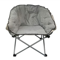 Oversized College Chair - Stone Gray Soft Dorm Seating