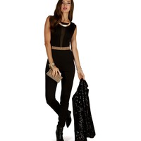 Sale-black Night Lover Jumpsuit