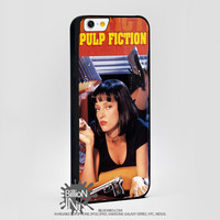 Vintage Pulp Fictioner For Apple, Iphone, Ipod, Samsung Galaxy Case