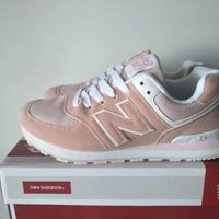 new balance 574 women sport casual multicolor n words sneakers running shoes-3