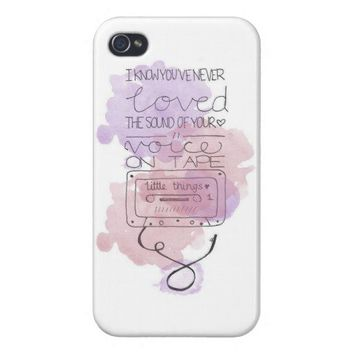 One Direction - Little Things - Phone Case from Zazzle.com